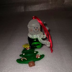 2 Handmade Christmas Ornaments- NOS
